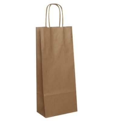 Brown Kraft Twist Handle Bags