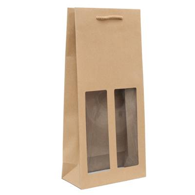 kraft-wine-paper-bag-with-window-double